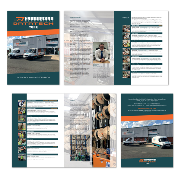 A4 Brochure Designed and Printed