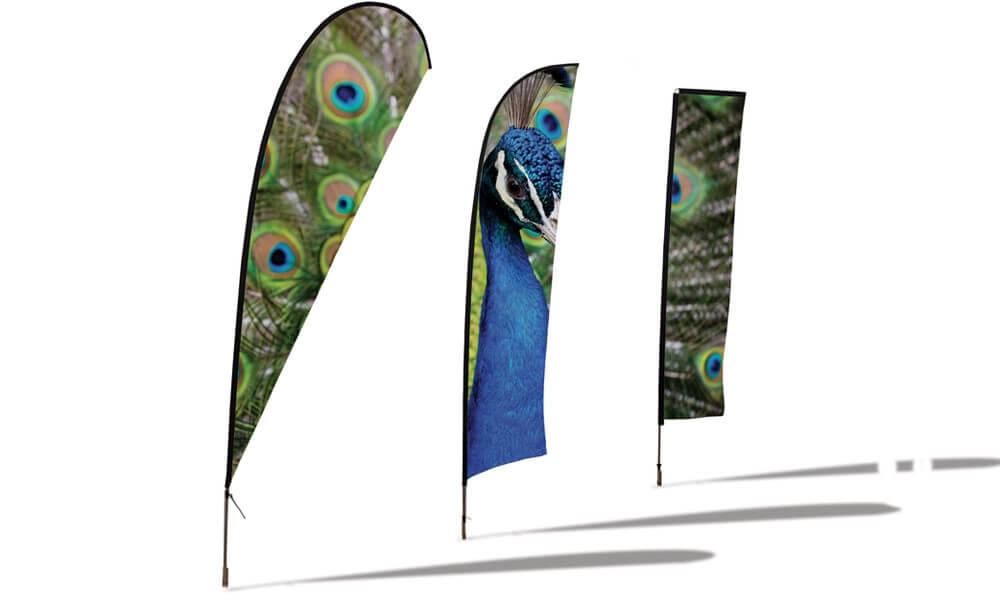 Teardrop Flags image