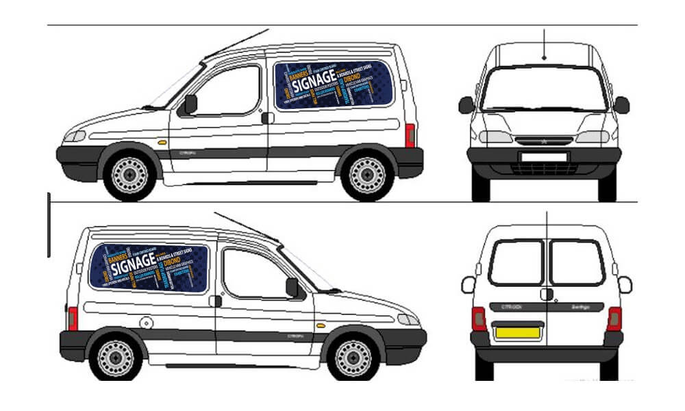 Vehicle/Van Graphics image
