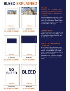 So you want to know how to make full bleed print files