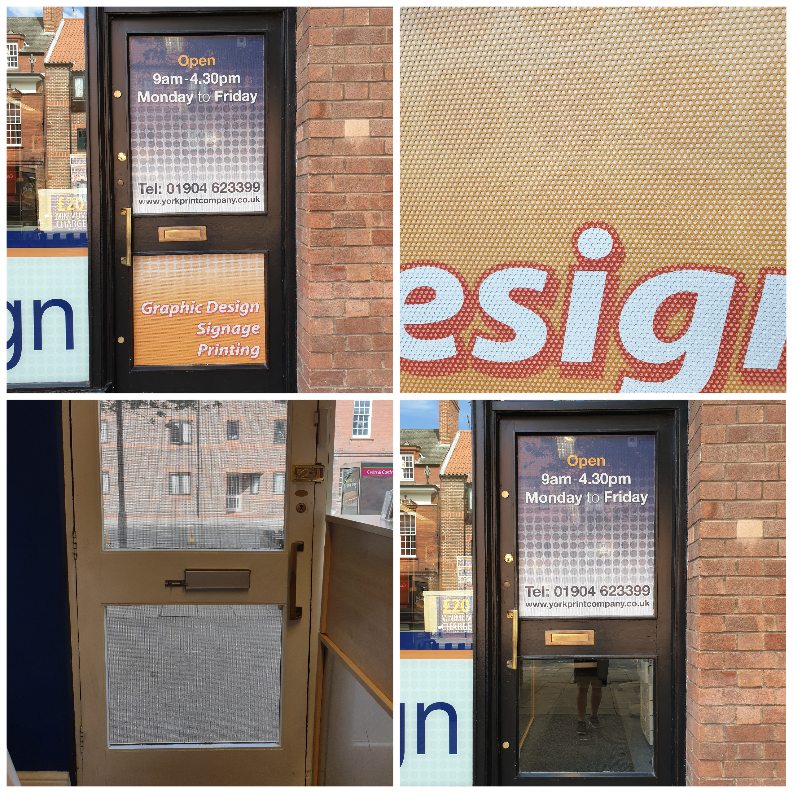 One way window graphics – Contra Vision®