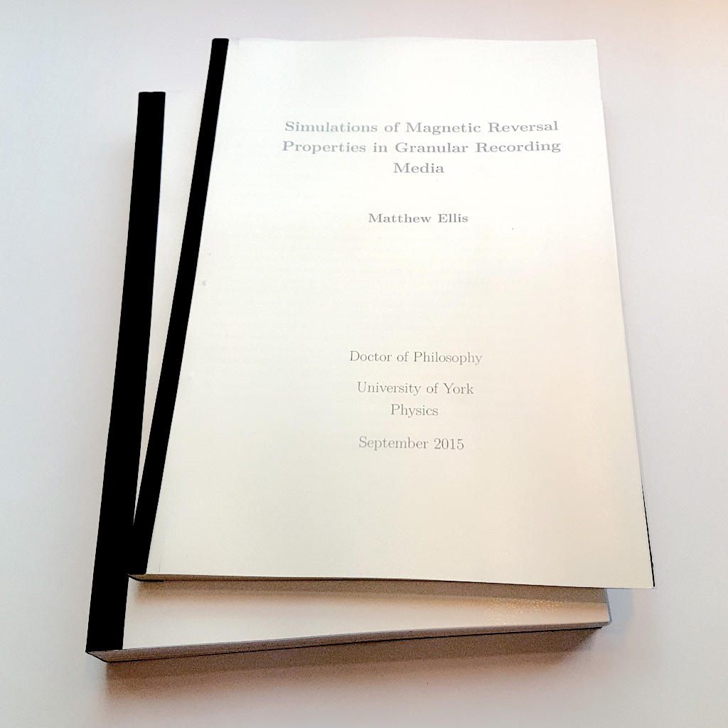 Dissertation Print & Bind
