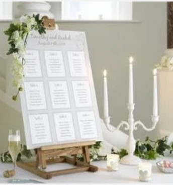 Table seating plan