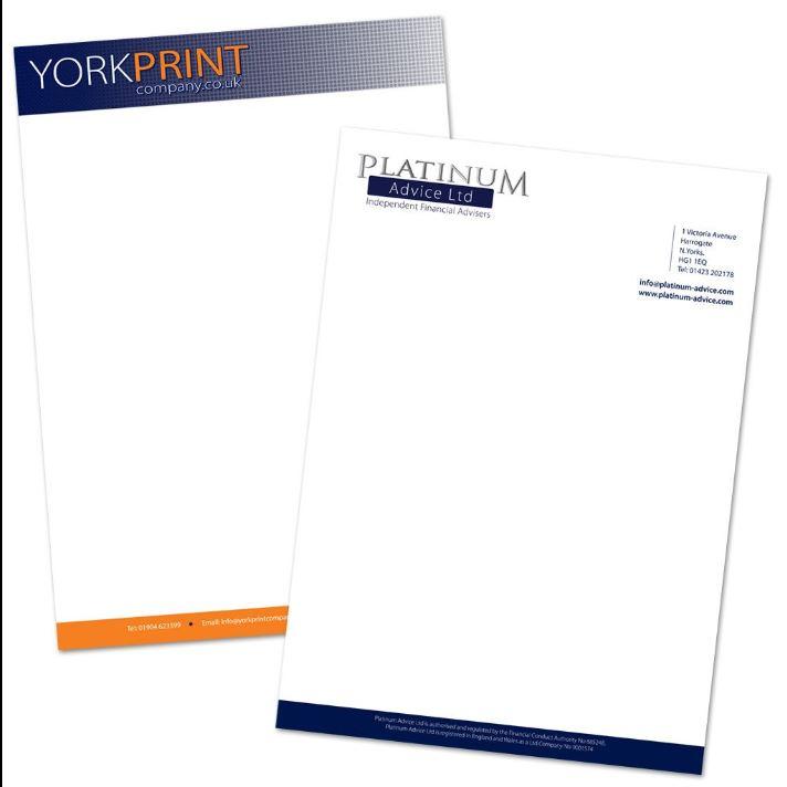 A4 Letterhead Paper