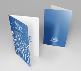 Christmas Card Printing A5