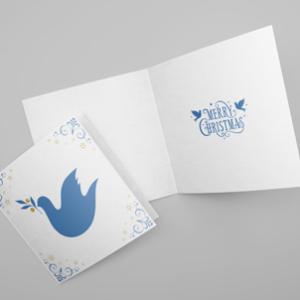 Square Christmas Cards