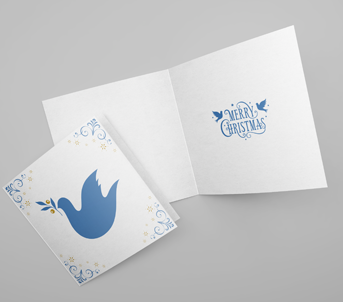 Square Christmas Card Printing